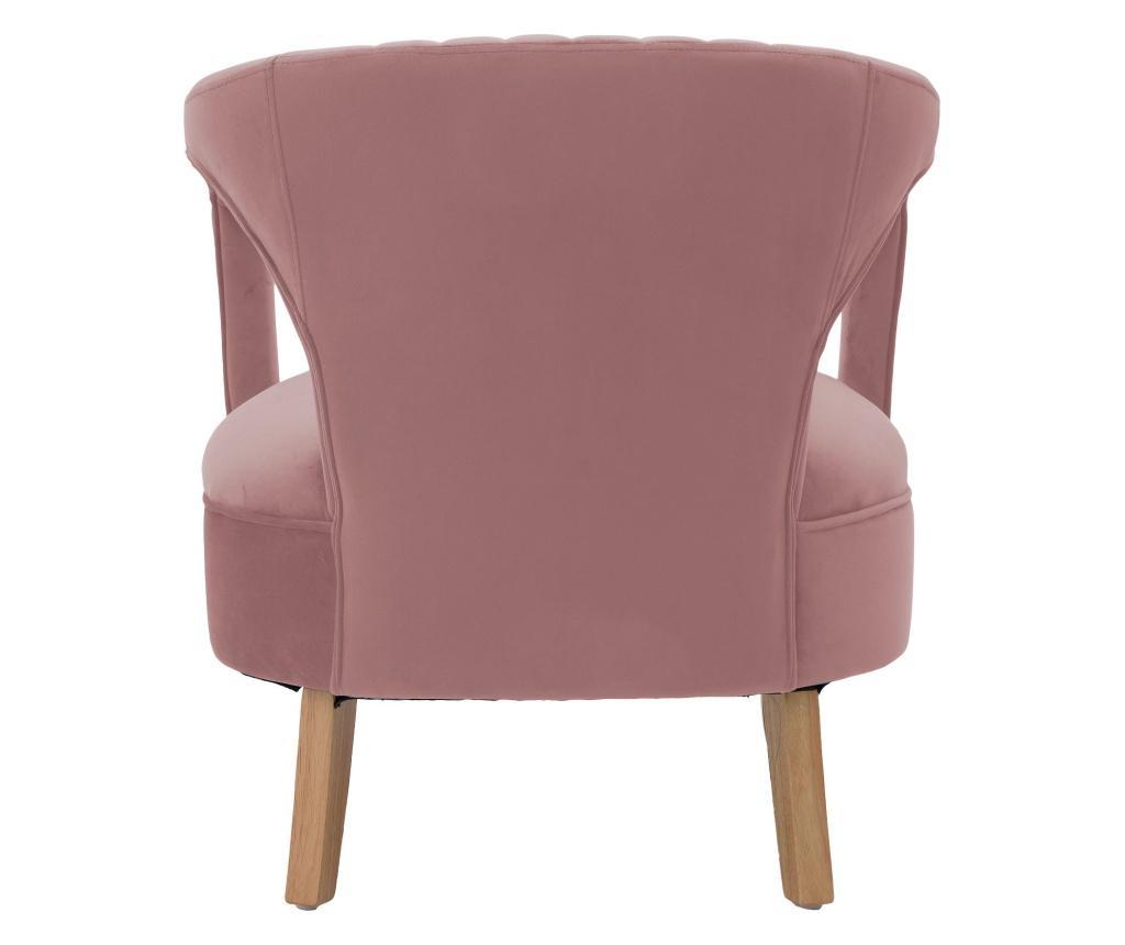 Fotoliu Velvet Pink