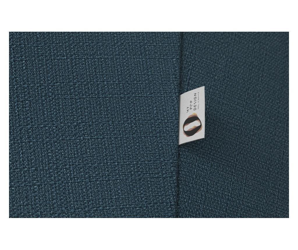 Canapea 2 locuri Picpus Petrol Blue