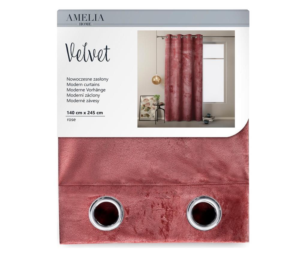 Draperie Velvet Eyelets 140x245 cm