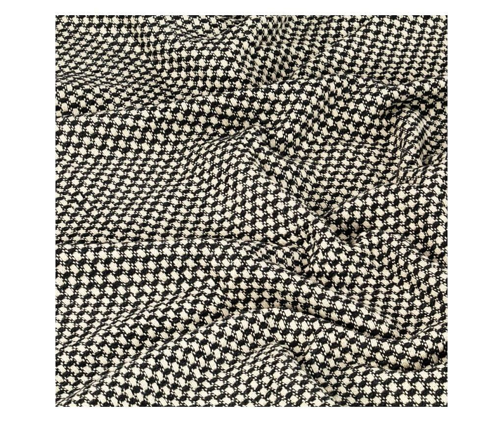 Přehoz bavlna 220 x 250 cm antracitový