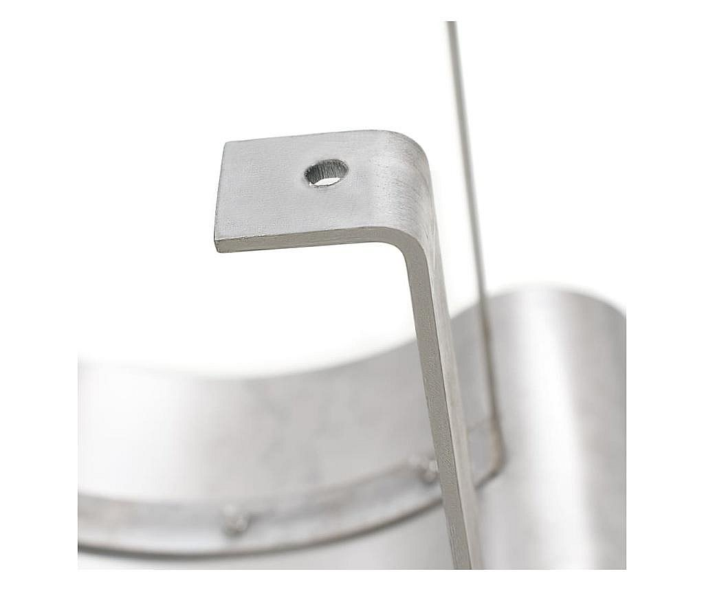 Kapa za dimnjak od nehrđajućeg čelika srebrne boje