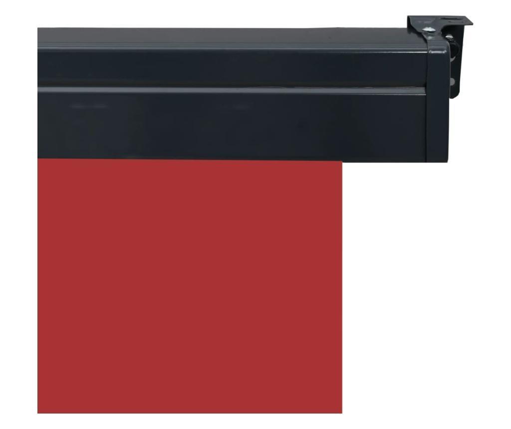 Вертикална тента за балкон, 60x250 см, червена
