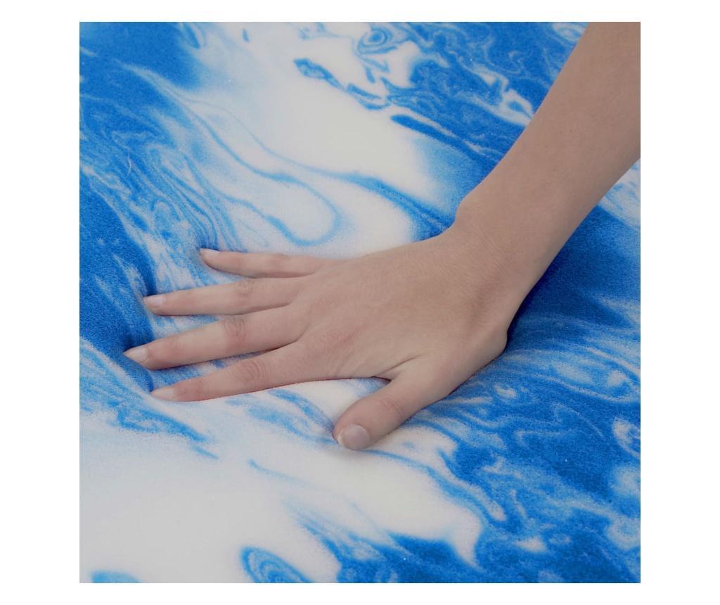 Nadmadrac 100 x 200 cm od gel-pjene 7 cm