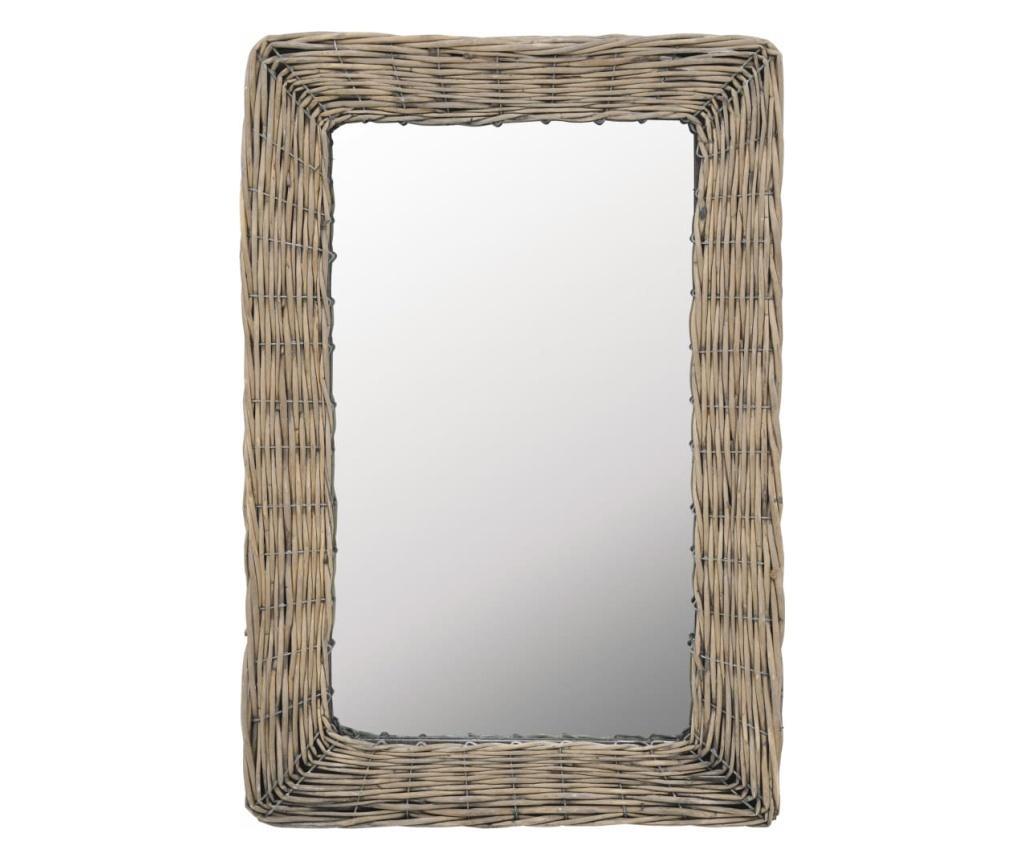 Oglinda, maro, 40 x 60 cm, rachita