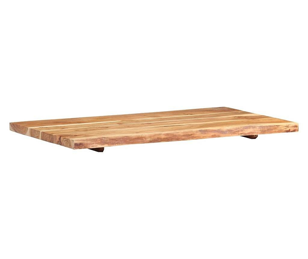 Vrh za kupaonski ormarić od bagremovog drva 100 x 55 x 3,8 cm