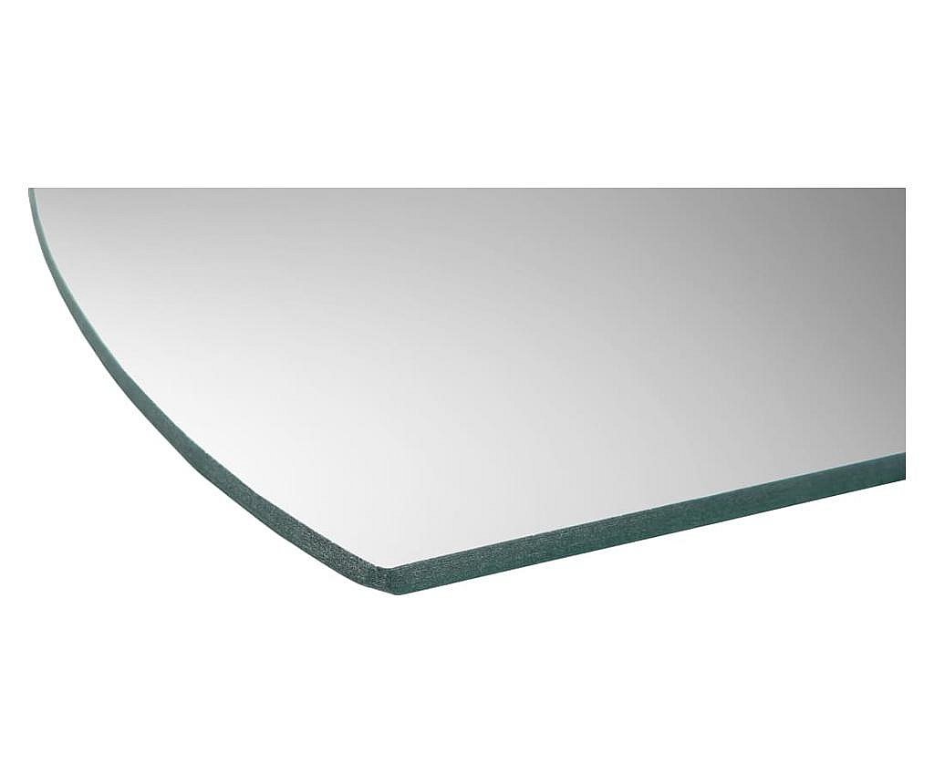 Oglinzi de perete, 8 buc, 20 x 20 cm, sticla ondulata