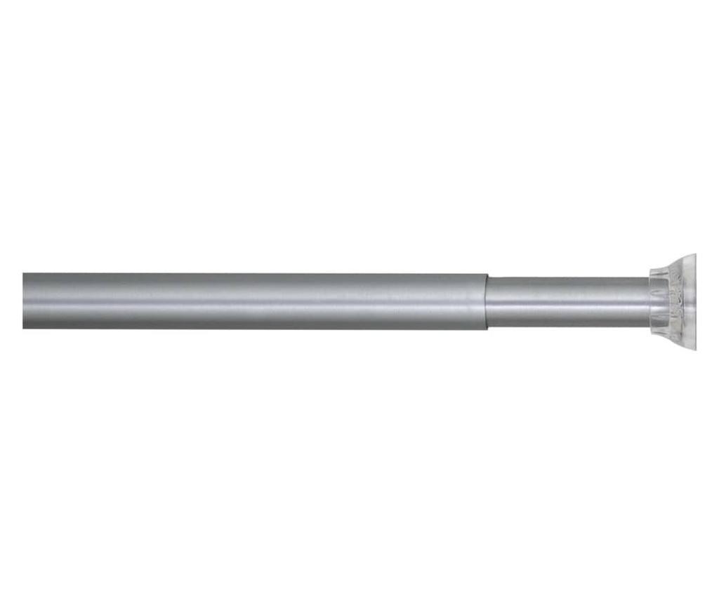 Sealskin Teleskopická tyč na sprchový závěs 185 cm matně šedá
