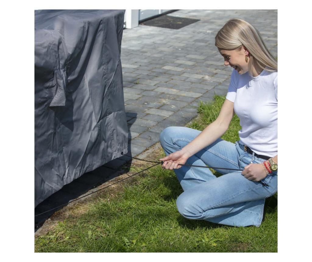 Madison Husa mobilier de exterior, gri, 320 cm, rotund