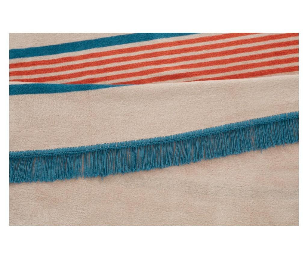 Deka Nordeco Home Double Striped Blue-gray 180x220 cm