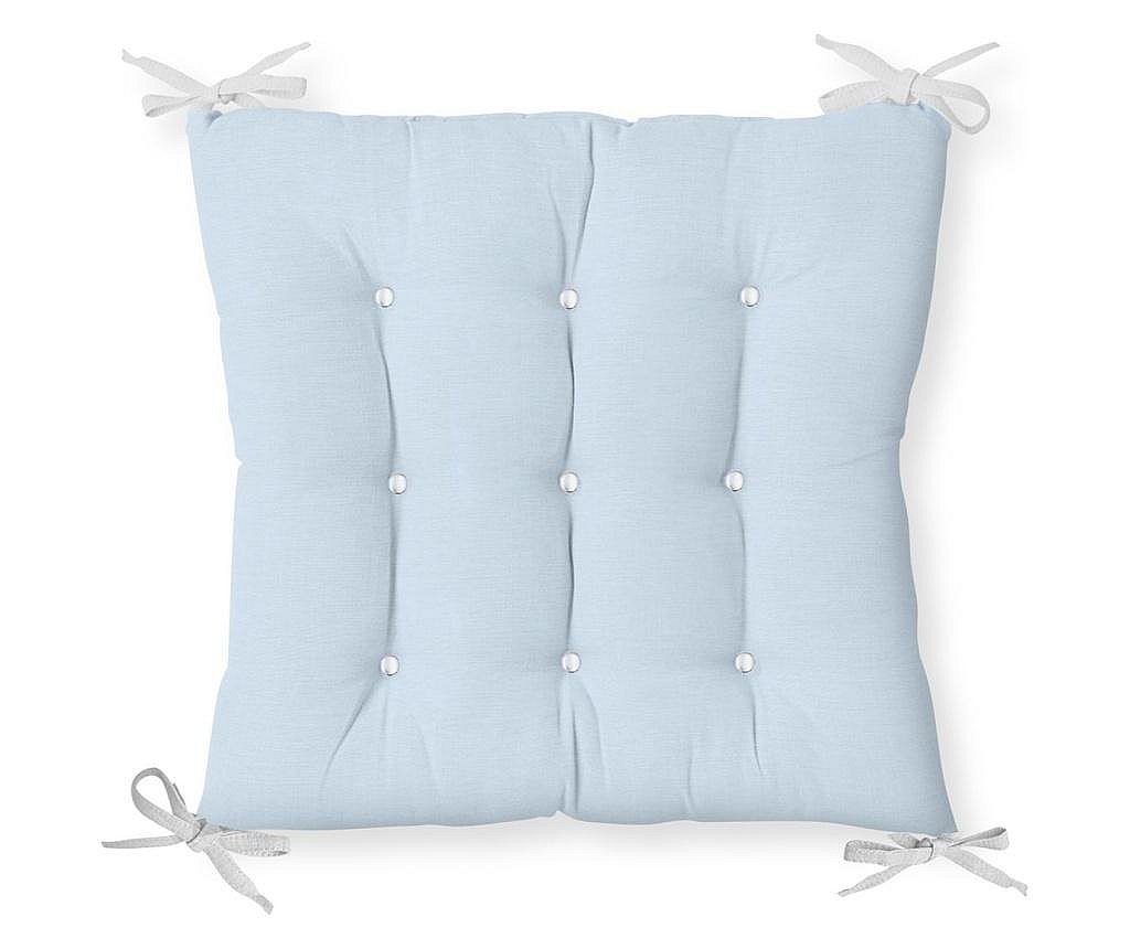 Perna de sezut Minimalist Cushion Covers Light Blue 40x40 cm