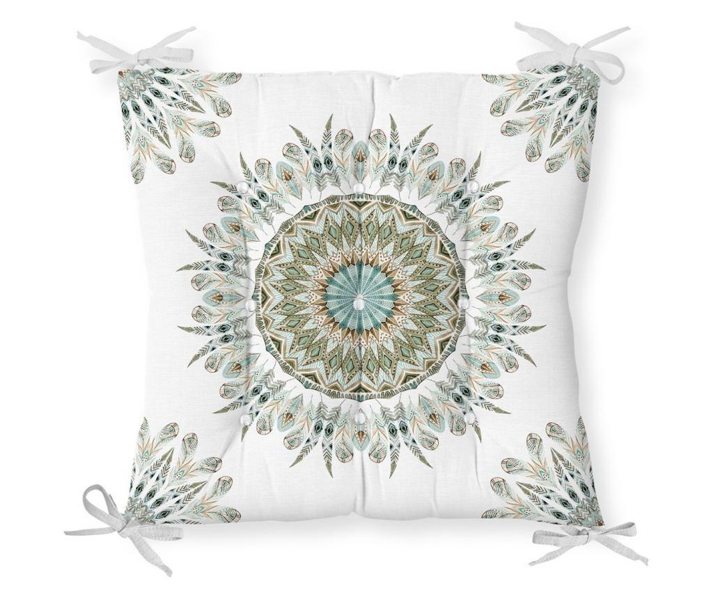 Perna de sezut Minimalist Cushion Covers Ethnic Boho Mandala 40x40 cm