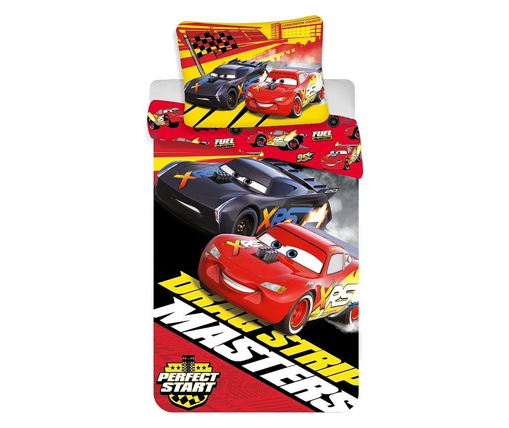 Set posteljina Single Ranforce Cars Masters