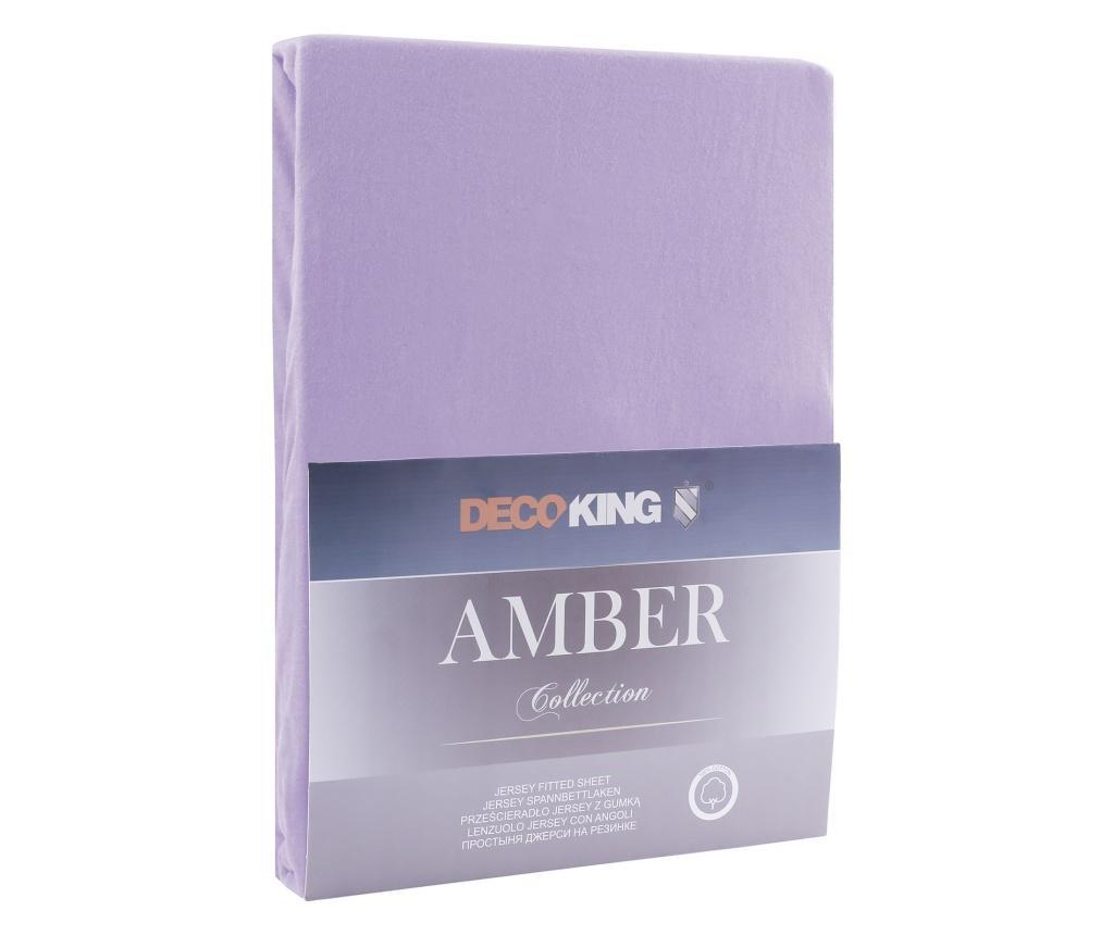 Plahta s elastičnom gumicom Amber 180x200 cm