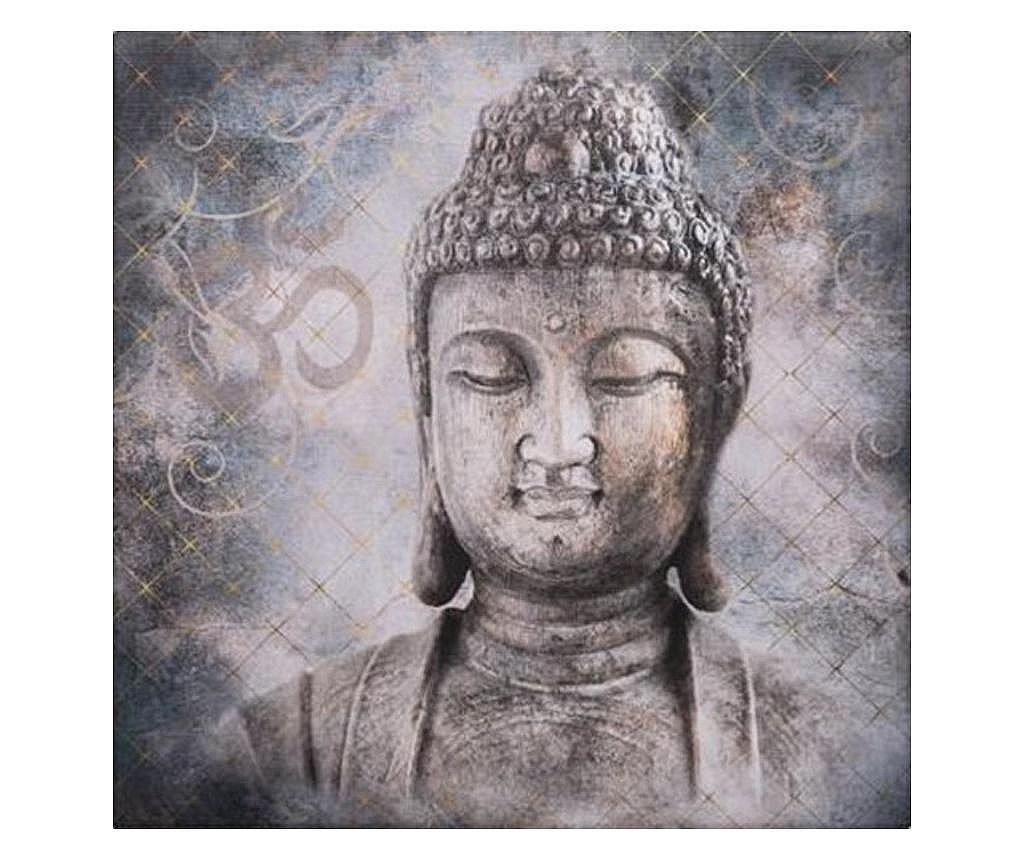 Tablou canvas Bouddha Eternity, 38x38 cm