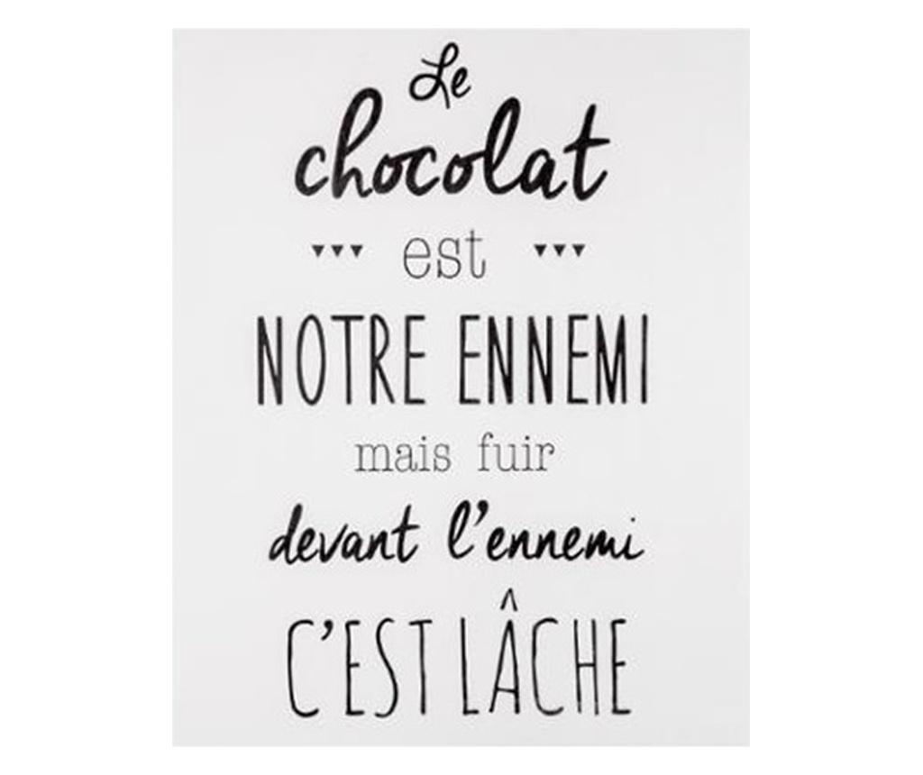 Tablou sticker Chokolat, 30x40 cm