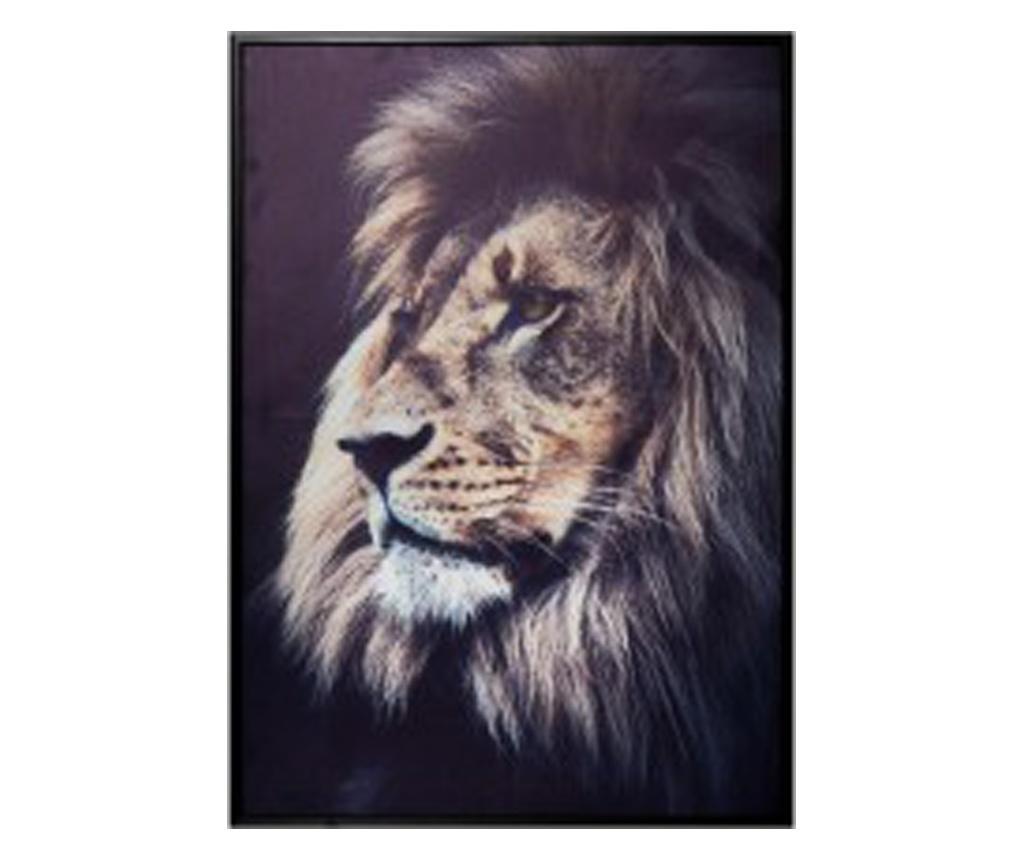 Tablou canvas Lion King, 48x68 cm
