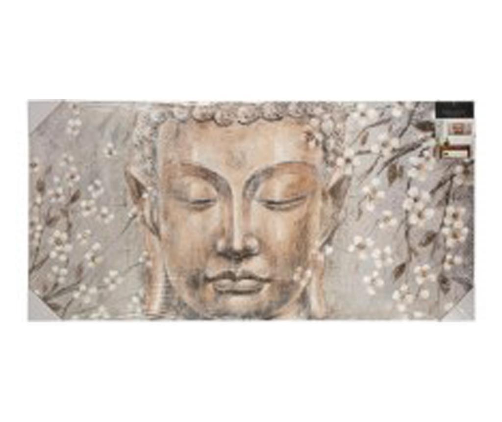 Tablou canvas Bouddha Flower, 118x58 cm