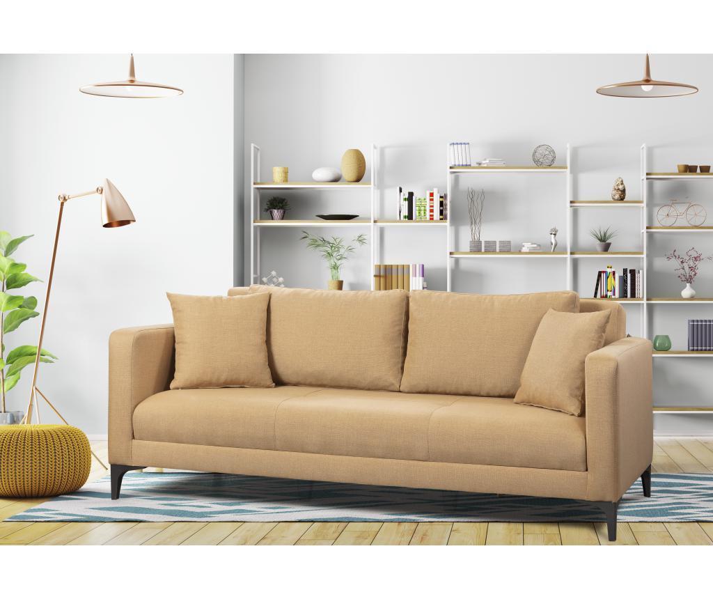 Kauč trosjed na razvlačenje Gauge Concept Light Brown