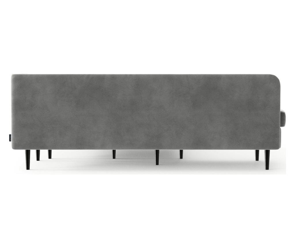 Memphis Light Grey Baloldali kihúzható sarokkanapé