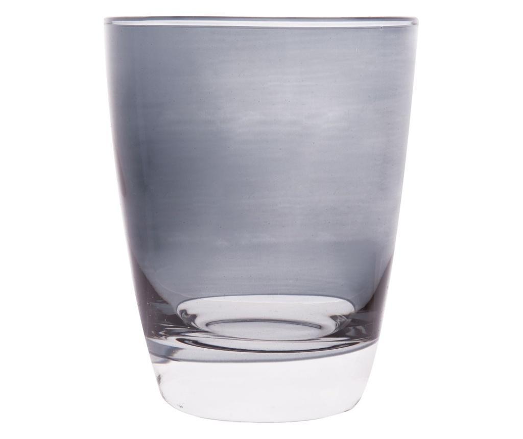 Set 2 pahare pentru apa Happy Colour 300 ml