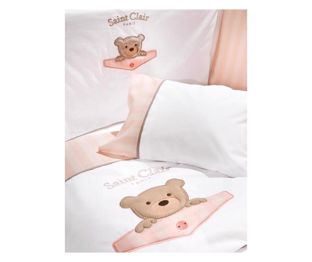 Set 2 plahte za krevetić i jastučnica