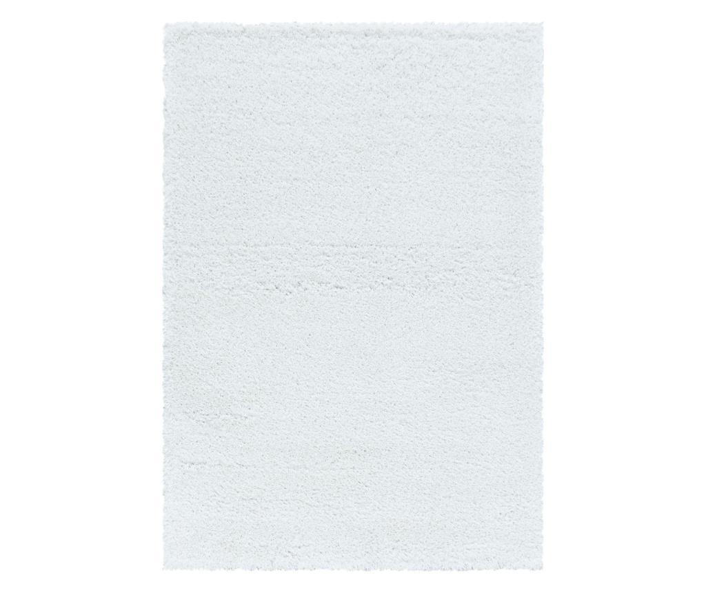 Tepih Fluffy White 200x290 cm