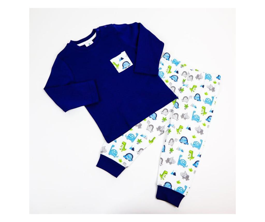 Pijama 2 Piese Panolino Dino  2 Ani