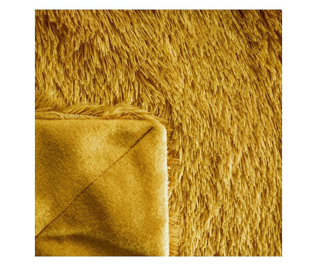 Deka na křeslo Tiffany Dark Yellow 70x160 cm