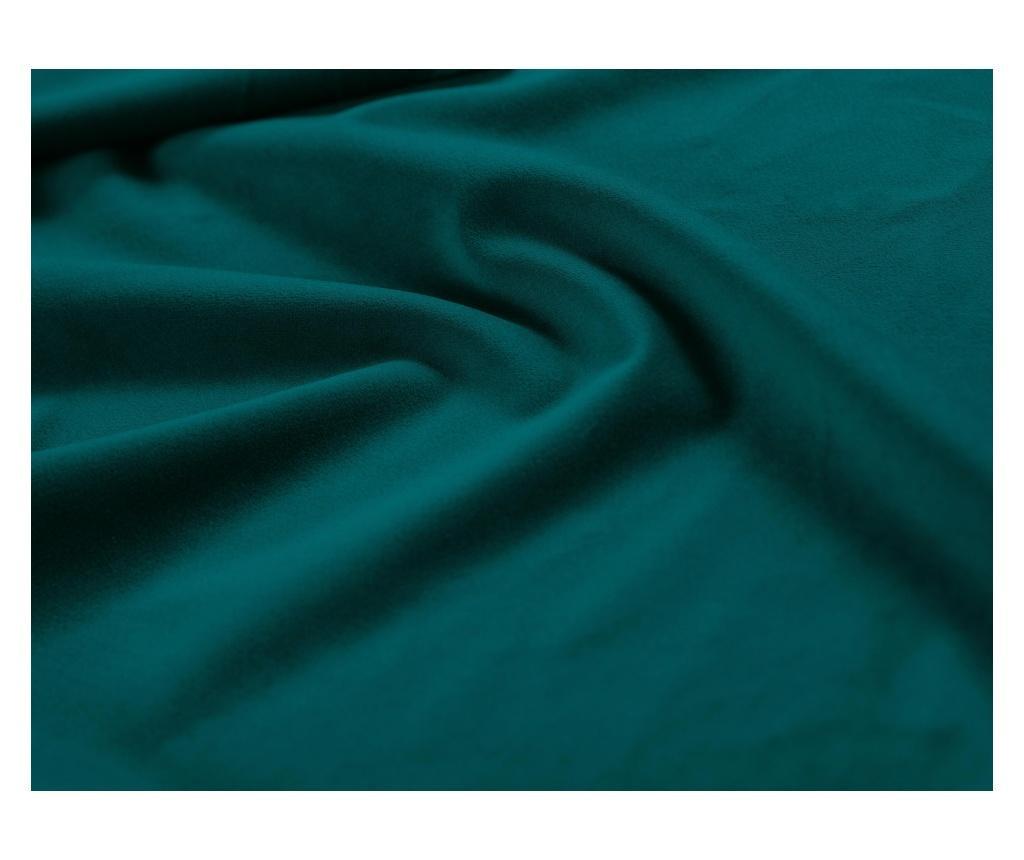 Narożnik prawostronny Madara Turquoise, Black