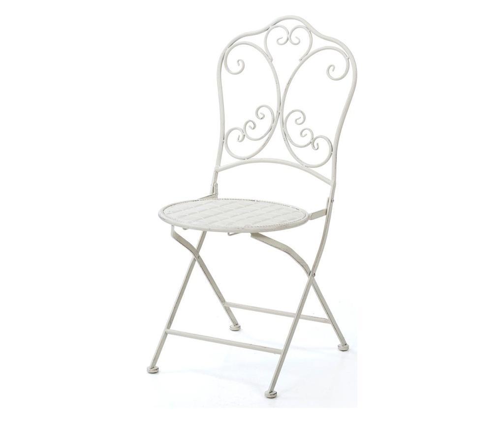 Zewnętrzne krzesło składane Trent