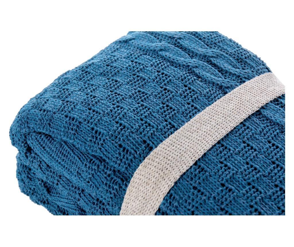 Pokrivač Dark Blue 130x170 cm