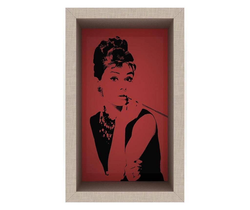Raft de perete Audrey (Red)