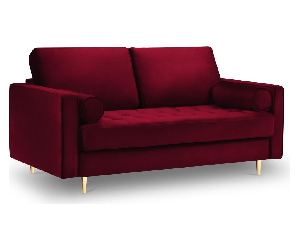 Canapea 2 locuri Santo Red
