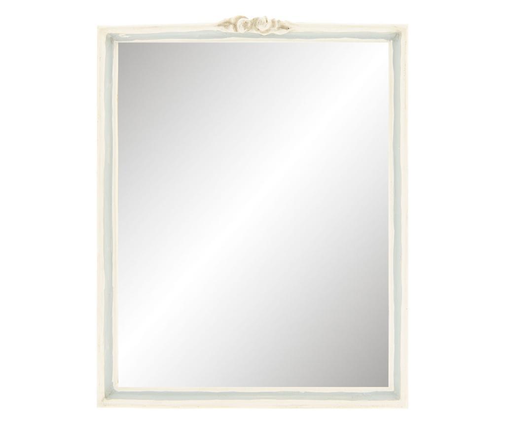 Oglinda Decorativa Perete Polirasina Gri 22x2x28 Cm
