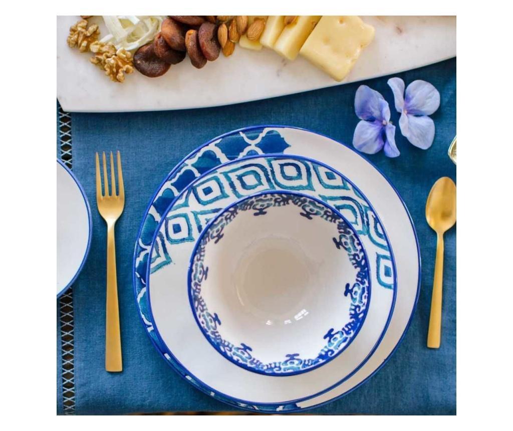 Bol pentru salata Blue Tile
