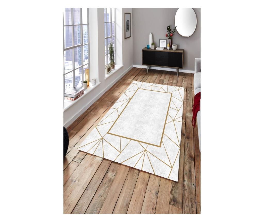 Dywan White Gold Striped 160x230 cm