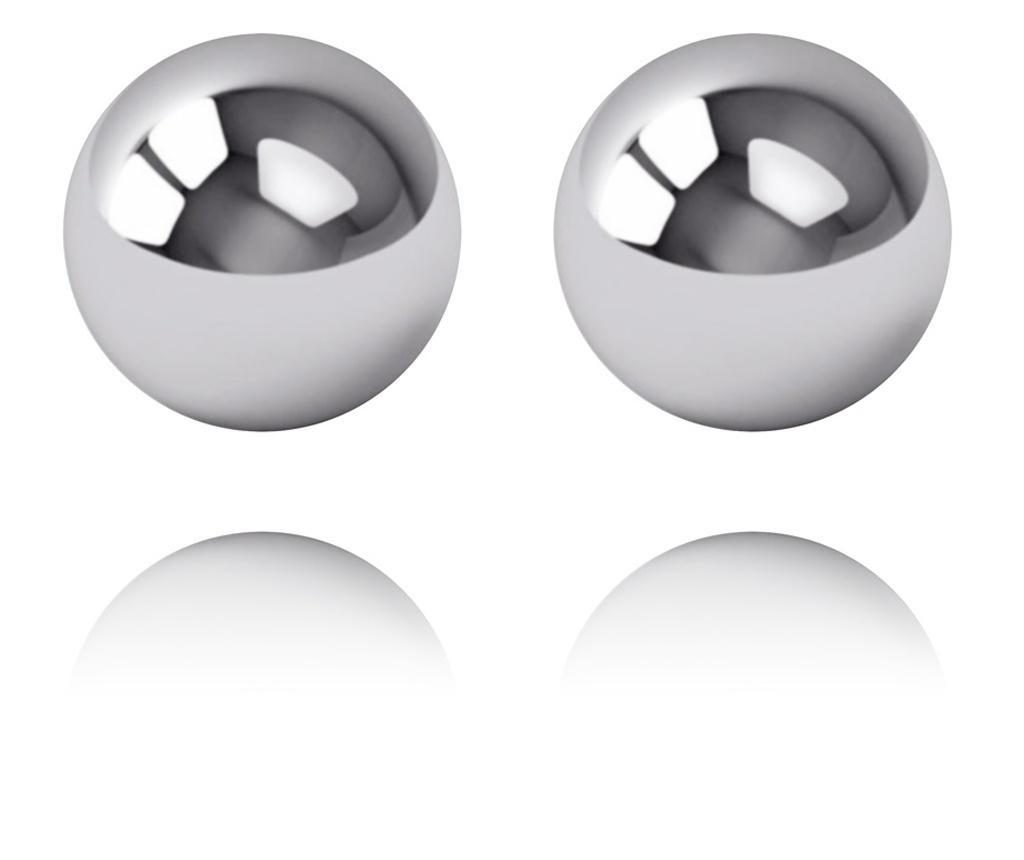 Set bratara si cercei dama Bubbles In Silver