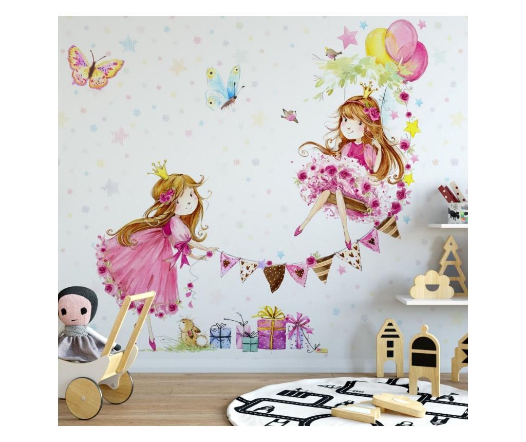Set 3 bucati de tapet Princess Girls Room 91x180 cm