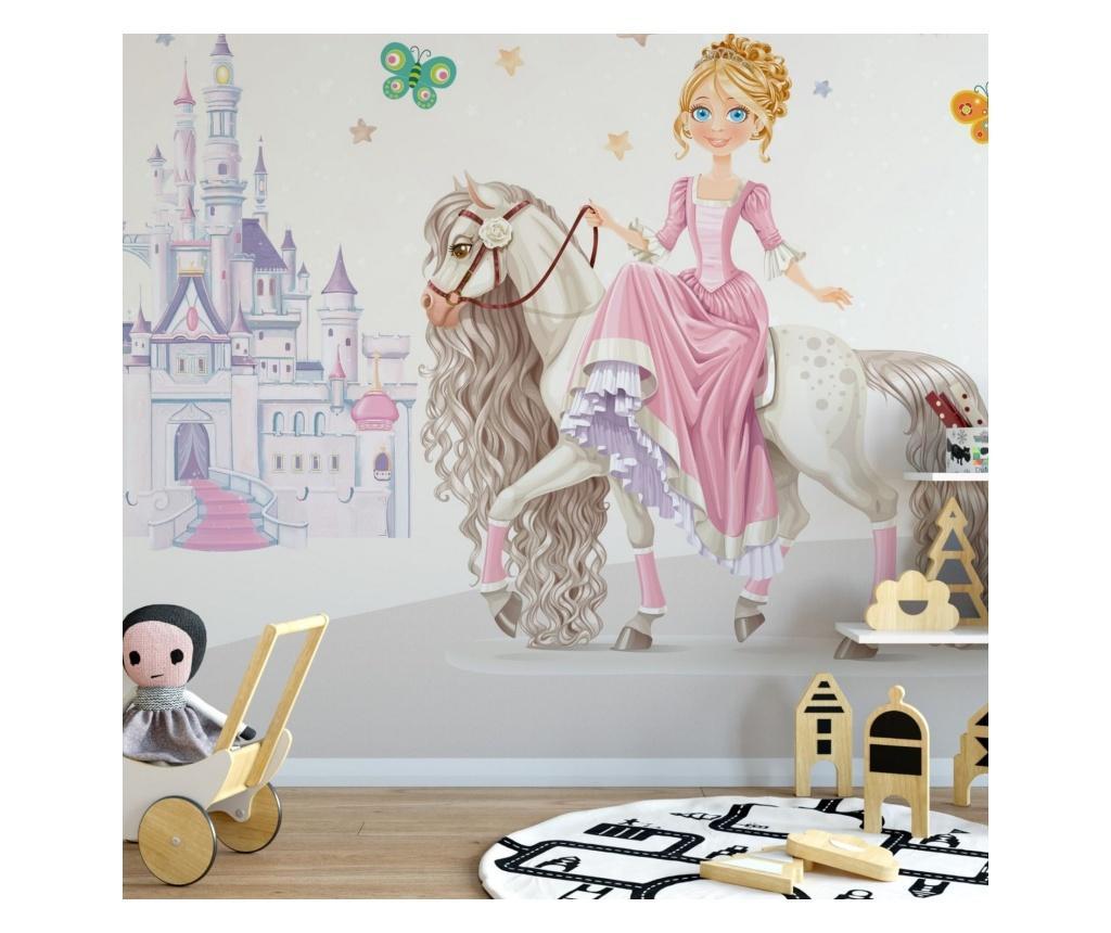 Set 3 bucati de tapet Princess Kids Room 91x260 cm
