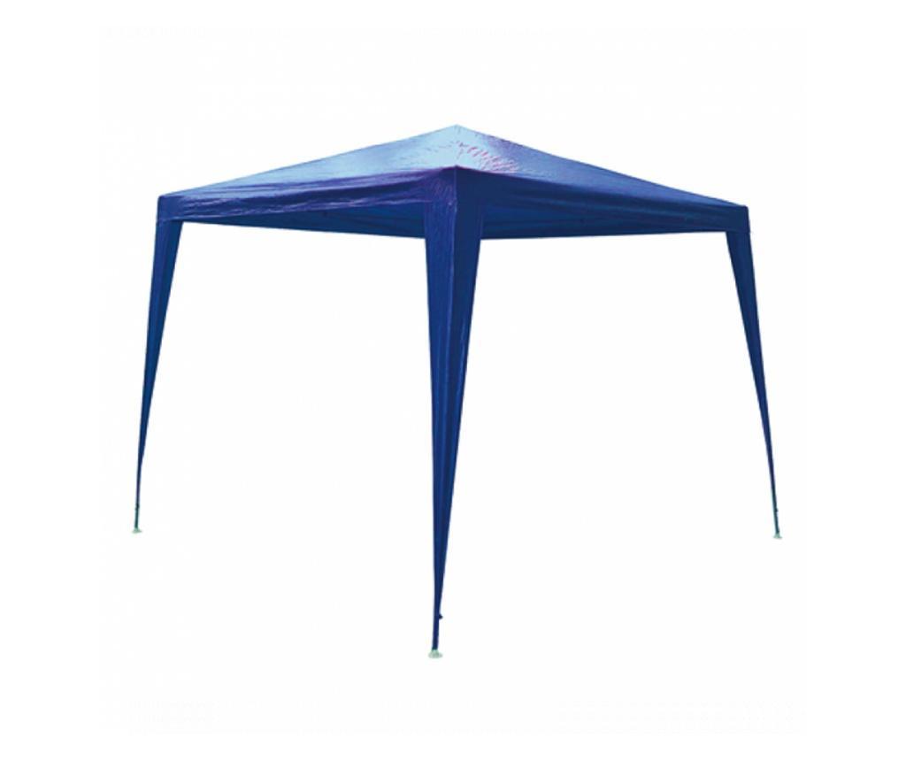 RAKI Pavilion patrat 3x3m nailon albastru
