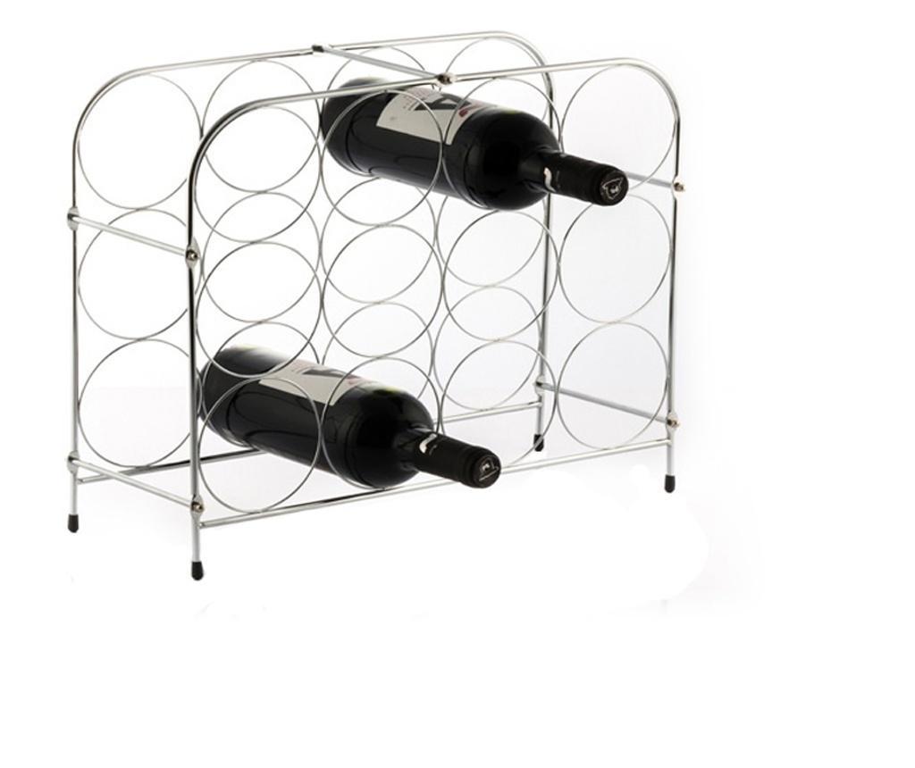 Suport metal pentru 12 sticle vin 41.5x33.5x16cm G0.9kg