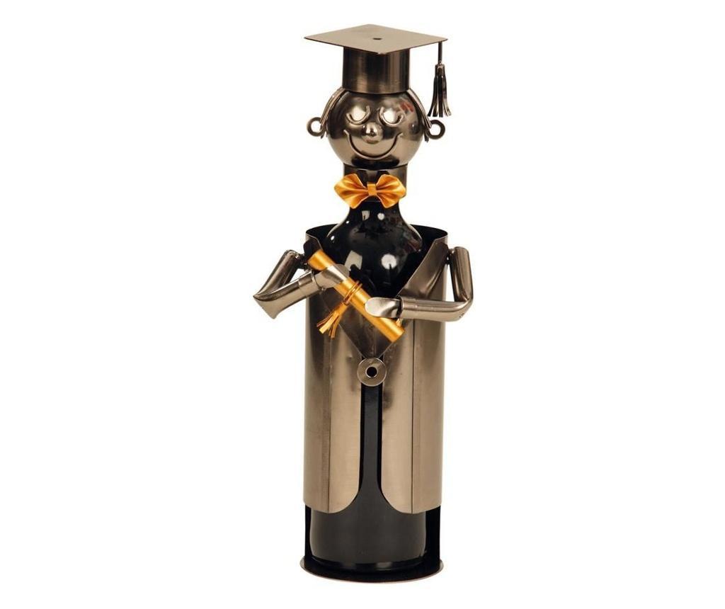 Suport pentru vin din metal student h21.5cm