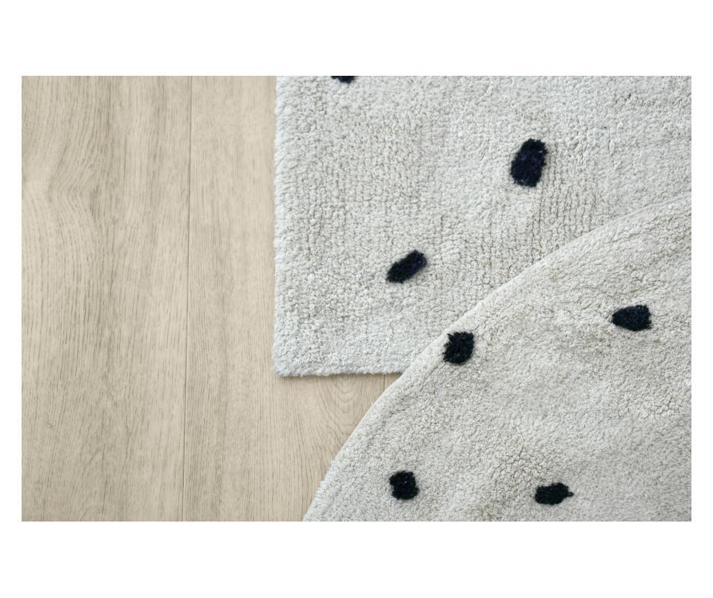 Tepih Mini Dots Beige & Black 120 cm
