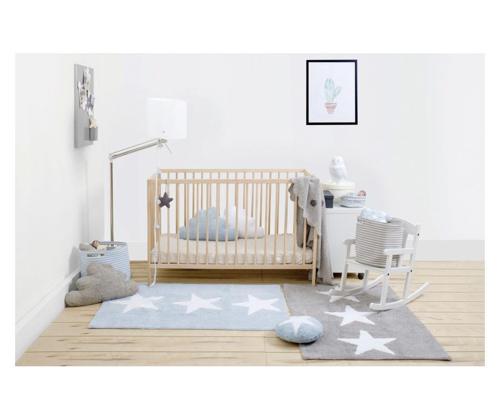 Tepih Three Stars Grey 80x120 cm