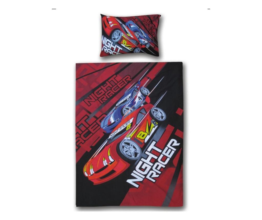 Set dječja posteljina Single Ranforce Night Racer