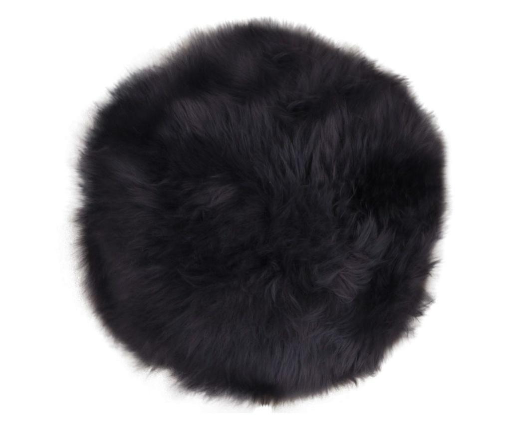 Futro jagnięce Lamb Black 35 cm