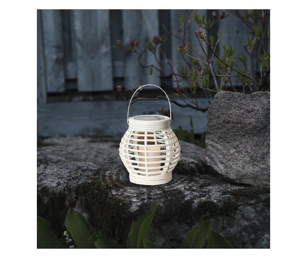 Felinar solar Lente White