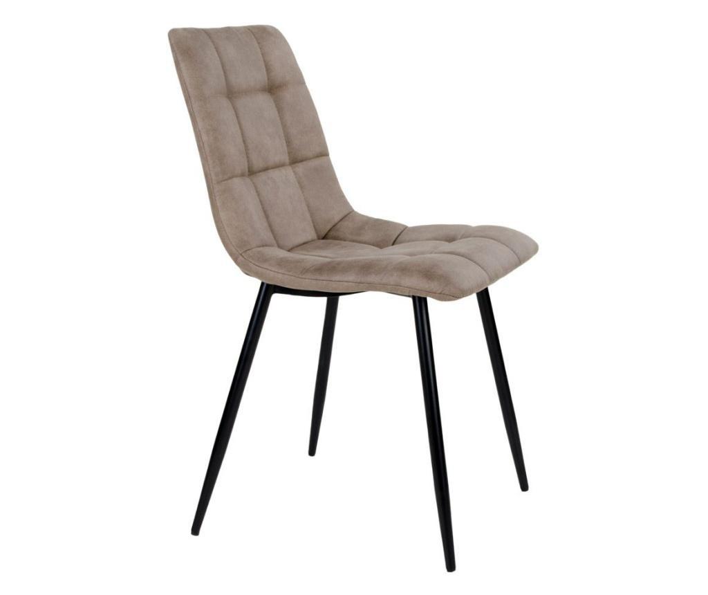 Set 2 scaune Middel Light Brown