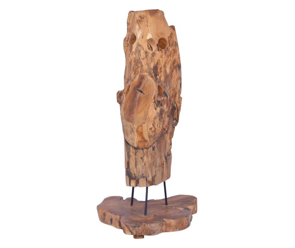 Suport 8 sticle de vin, 40 x 30 x 80 cm, lemn masiv de tec
