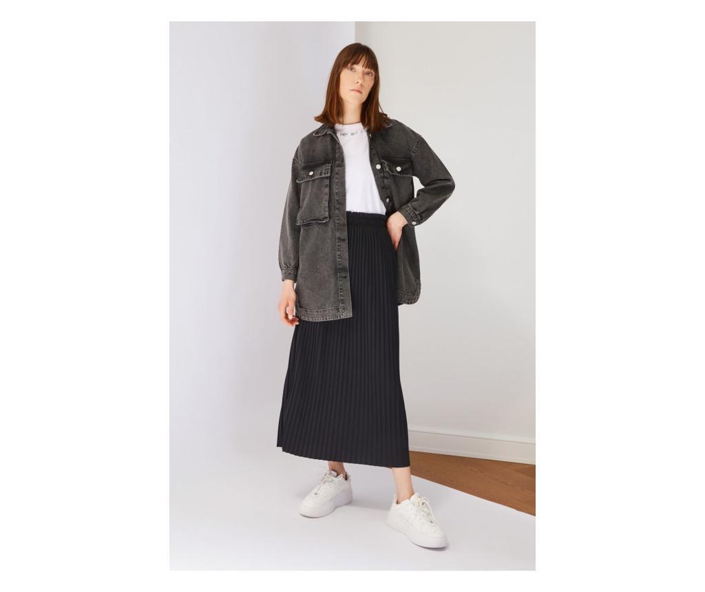 Fusta dama Amarantha L/XL, Trendyol Modest, neagra